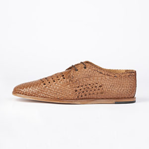 zapatos Hudson Barra Weave Color tan 1