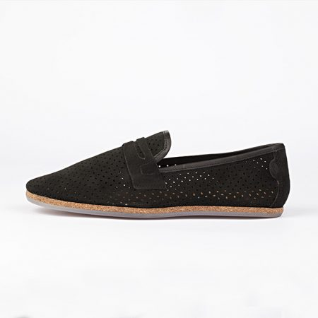 zapatos Hudson Platt Suede Color black 1
