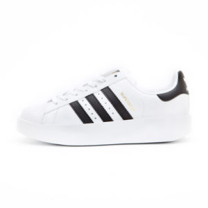 zapatillas Adidas Superstar Bold Platform Blanco BA7666