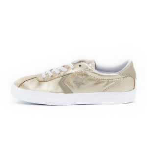 Zapatilla Converse CONS Breakpoint Metallic Light Gold White White