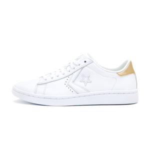Zapatilla Converse CONS Pro Leather Metallic White Light Gold White