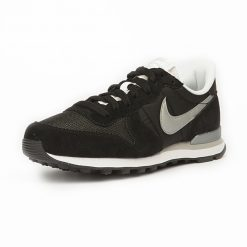 Sneaker Nike Internationalist Black Metallic Silver White