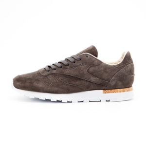 Zapatilla Reebok Cl Leather Lst Classic Urban Grey Stone White