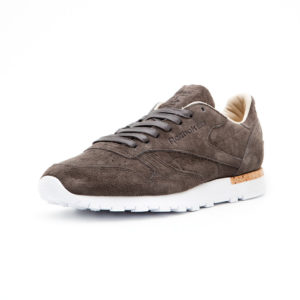 Calzado Reebok Cl Leather Lst Classic Urban Grey Stone White