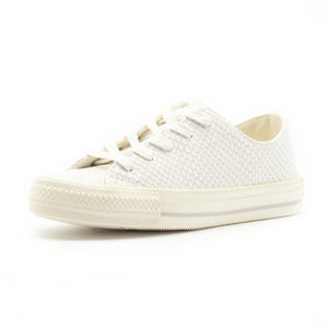 Sneaker Converse Chuck Taylor All Star Gemma Scaled Leather White Mouse Egret