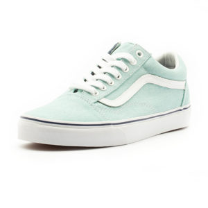 Sneakers Vans Old Skool Washed Washed Canvas Blue Radiance Crown Blue
