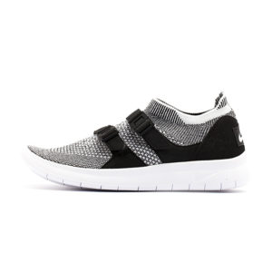 Zapatilla Nike Air Sockracer Flyknit Black Pale Grey Black White