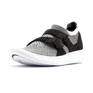 Sneaker Nike Air Sockracer Flyknit Black Pale Grey Black White