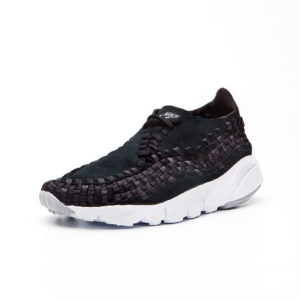 Calzado Nike Air Footscape Woven NM Black Dark Grey Wolf Grey