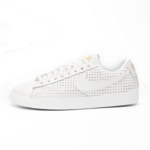 Zapatilla Nike Blazer Low Se Premium QS Summit White Metallic Gold Summit White