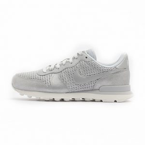 Zapatilla Nike Internationalist Premium Metallic Platinum Pure Platinum