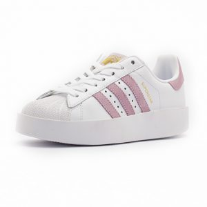 Sneaker Adidas Superstar Bold Platform Footwear White Wonder Pink Gold Metalic