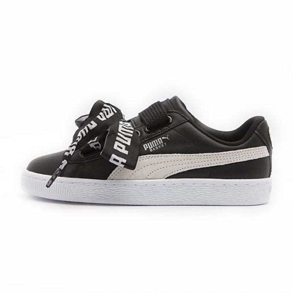 Zapatilla Puma Basket Heart DE Puma Black
