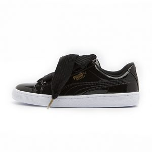 Zapatilla Puma Basket Heart Patent Puma Black