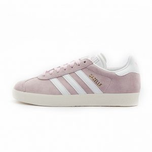 Zapatilla Adidas Gazelle Wonder Pink Footwear White Gold Metalic