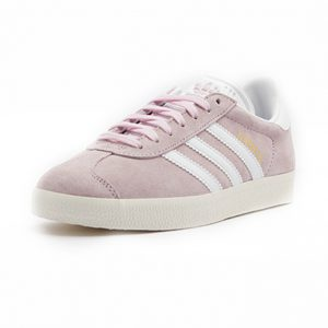Sneaker Adidas Gazelle Wonder Pink Footwear White Gold Metalic