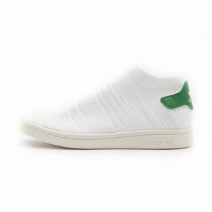 Zapatilla Adidas Stan Smith Sock Primeknit Footwear White Footwear White Green