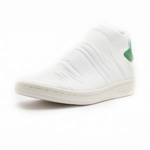 Sneaker Adidas Stan Smith Sock Primeknit Footwear White Footwear White Green