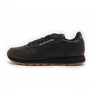 Zapatilla Reebok Classic Leather Intense Black Gum