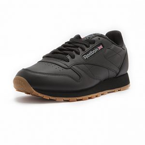 Sneaker Reebok Classic Leather Intense Black Gum