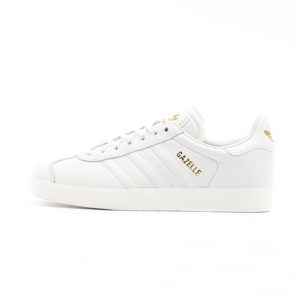 Zapatilla Adidas Gazelle Crystal White Crystal White Gold Metalic