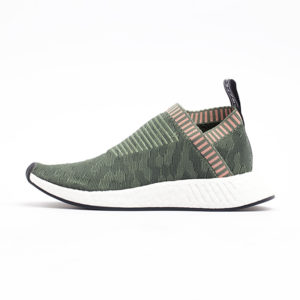 Zapatilla Adidas NMD CS2 Primeknit Trace Green Trace Green Trace Pink