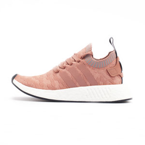 Zapatilla Adidas NMD R2 Primeknit Raw Pink Raw Pink Grey Three