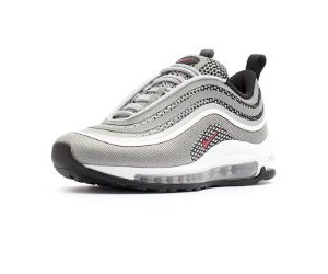 Sneaker Nike Air Max 97 Ultra ´17 Metallic Silver Varsity Red