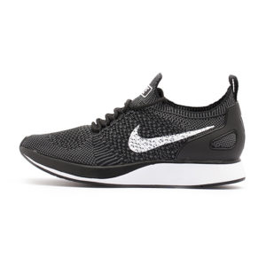 Zapatilla Nike Air Zoom Mariah Flyknit Racer Premium Black White Dark Grey
