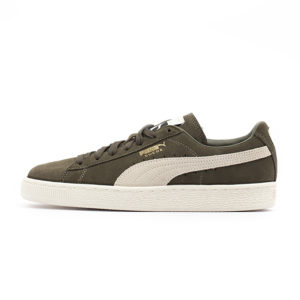 Zapatilla Puma Suede Classic Olive Night Birch