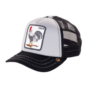 Cap Goorin Bros. Cock Black Grey