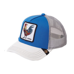 Cap Goorin Bros. Cock Blue White Grey