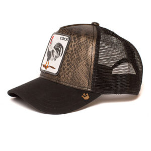 Cap Goorin Bros. Cock Brown Snake Gold