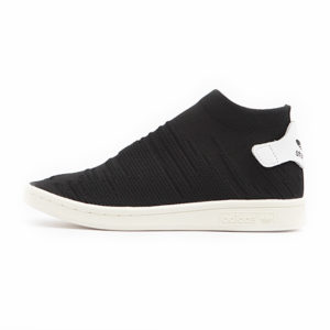 Zapatilla Adidas Stan Smith Sock Primeknit Core Black Footwear White