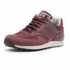 Sneaker New Balance M 576 GMM Dark Red Grey