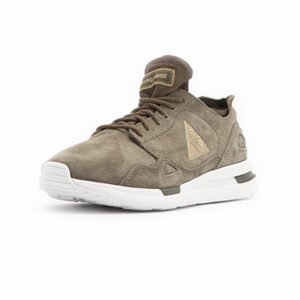 Sneaker Le Coq Sportif LCS R Flow W Suede Satin Olive Night