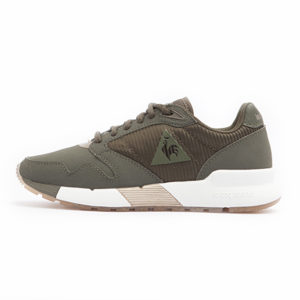 Zapatilla Le Coq Sportif Omega X W Striped Sock Metallic Olive Night