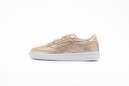 Zapatilla Reebok Classic Leather Melted Metal Pearl Met Peach White