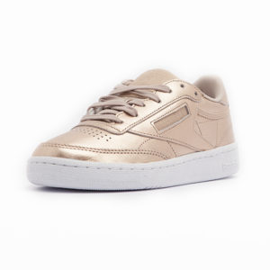 Sneaker Reebok Classic Leather Melted Metal Pearl Met Peach White
