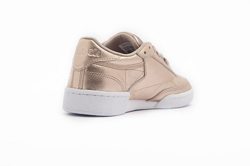 Bamba Reebok Classic Leather Melted Metal Pearl Met Peach White