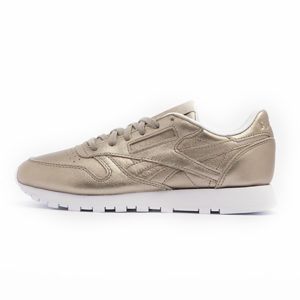 Sneaker Reebok Classic Leather Melted Metal Pearl Metal Peach White