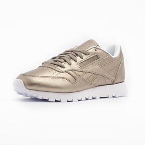 Zapatilla Reebok Classic Leather Melted Metal Pearl Metal Peach White
