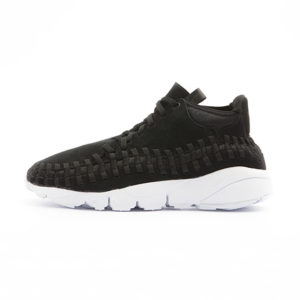 Zapatilla Nike Air Footscape Woven Chukka Black Black White
