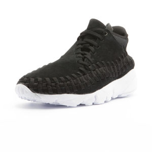 Sneaker Nike Air Footscape Woven Chukka Black Black White