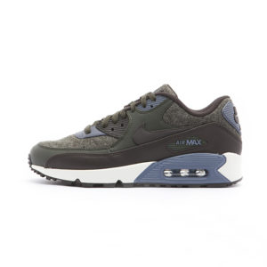 Zapatilla Nike Air Max 90 Premium Sequoia Light Carbon Dark Stucco Velvet Brown