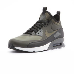 Sneaker Nike Air Max 90 Ultra Mid Winter Sequoia Black Dark Grey Medium Olive