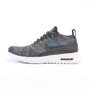 Zapatilla Nike Air Max Thea Ultra Flyknit Black Black Ivory Night Purple