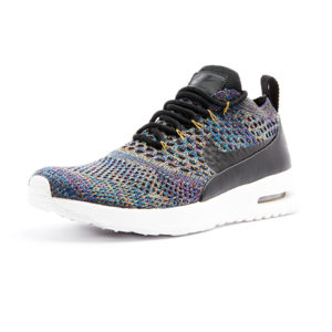 Sneaker Nike Air Max Thea Ultra Flyknit Black Black Ivory Night Purple