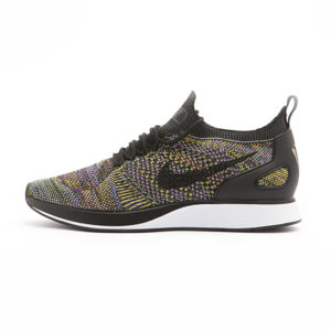 Zapatilla Nike Air Zoom Mariah Flyknit Racer Black Black Vivid Purple