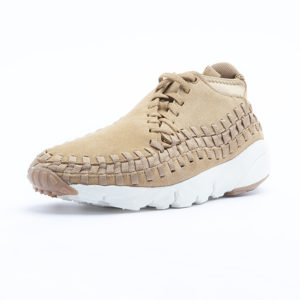 Sneaker Nike Footscape Woven Chukka Flax Flax Sail Gum Medium Brown